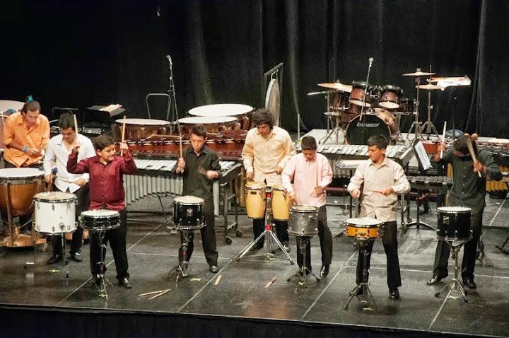 El concierto estuvo enmarcado en el Primer Festival de Percusión del Zulia