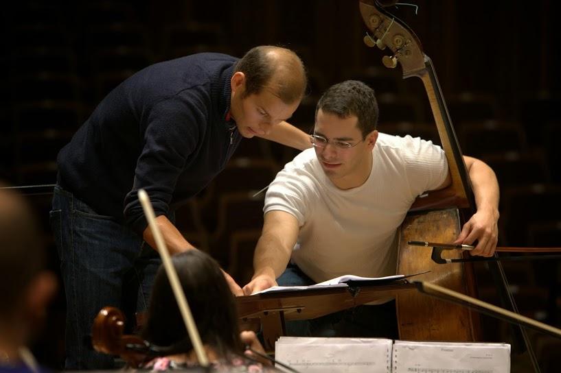 Edicson Ruiz se formó en El Sistema y actualmente es contrabajista de la Filarmónica de Berlín
