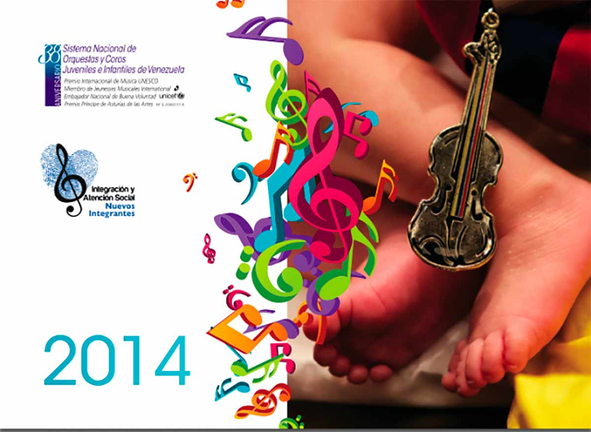 Calendario 2014 Del Programa Nuevos Integrantes