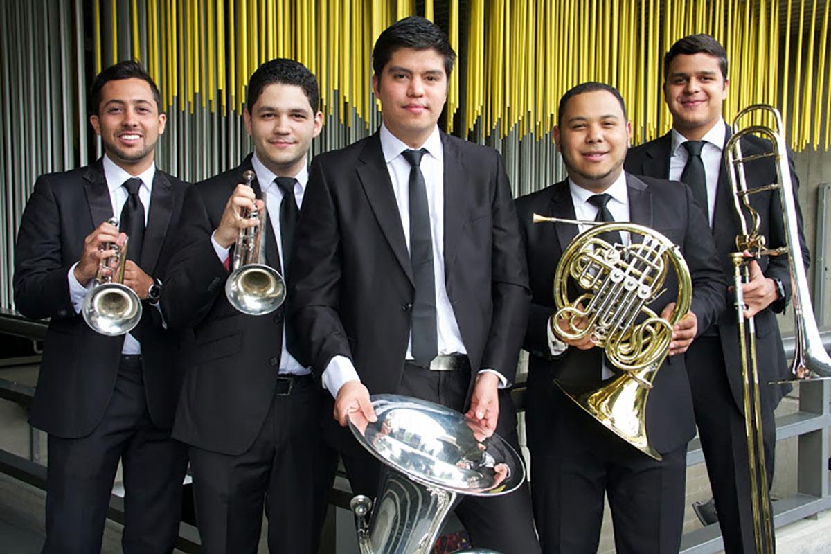 Con El Stunning Brass Quintet Resurgen Los Quintetos De Metales