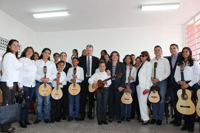 El Sistema Mostró Sus Programas De Formación Musical En El Núcleo 23 De Enero