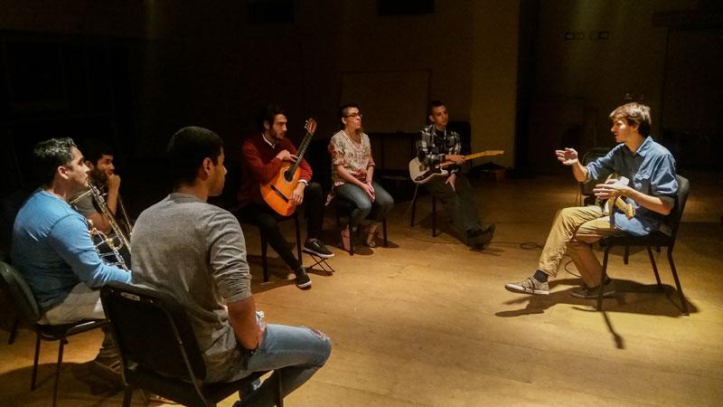 Estudiante Sueco Mostró Nuevas Formas De Explorar La Improvisación Musical