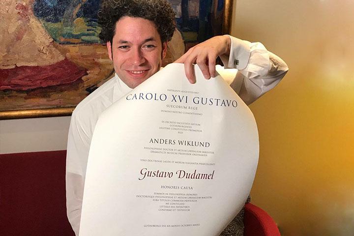 Gustavo Dudamel Recibió Un Nuevo Honoris Causa De La Universidad De Gotemburgo