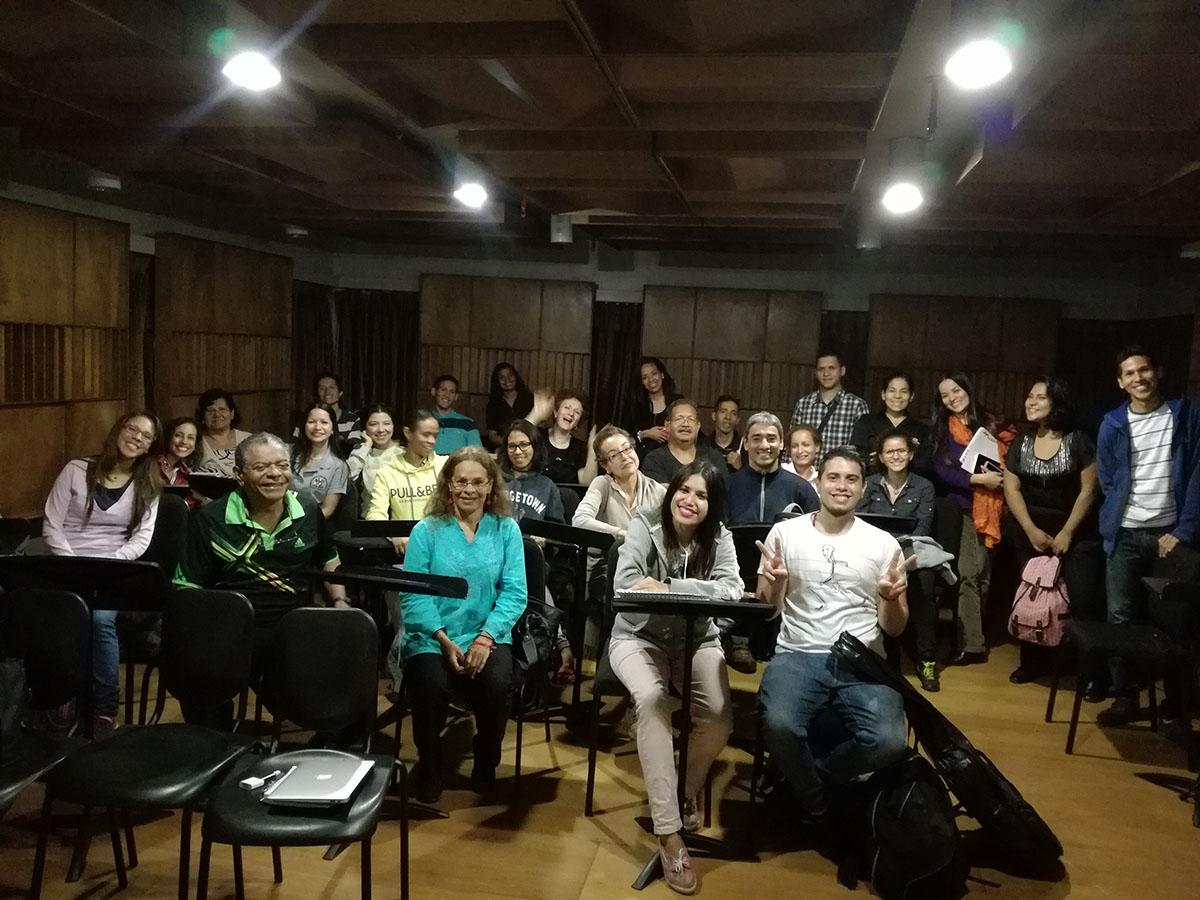 Docentes De Iniciación Musical Y Directores De Orquestas Pre Infantiles Compartieron Lineamientos Educativos