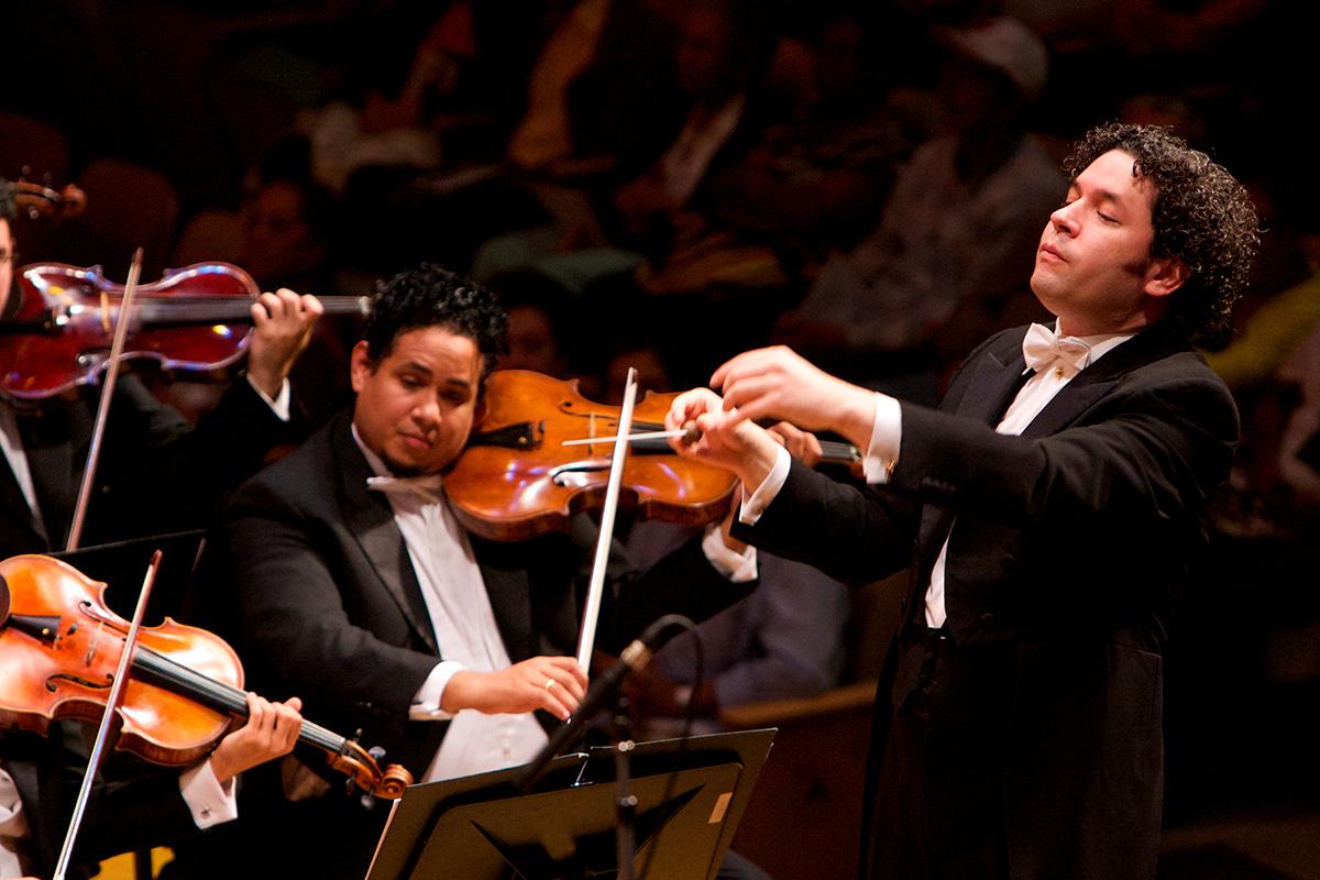 Gustavo Dudamel Abre Programa De Residencia En La Universidad De Princeton