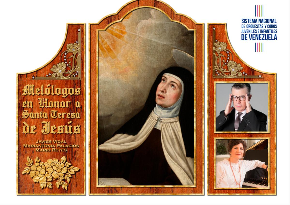 Los Versos Espirituales De Santa Teresa De Jesús Se Escucharán En La Sala Fedora Alemán Con Acompañamiento De Piano