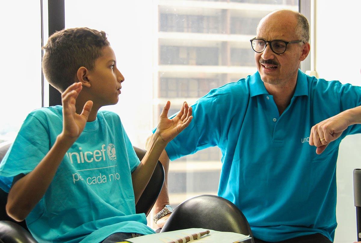 El Sistema Se Renueva Como Embajador De UNICEF En Venezuela