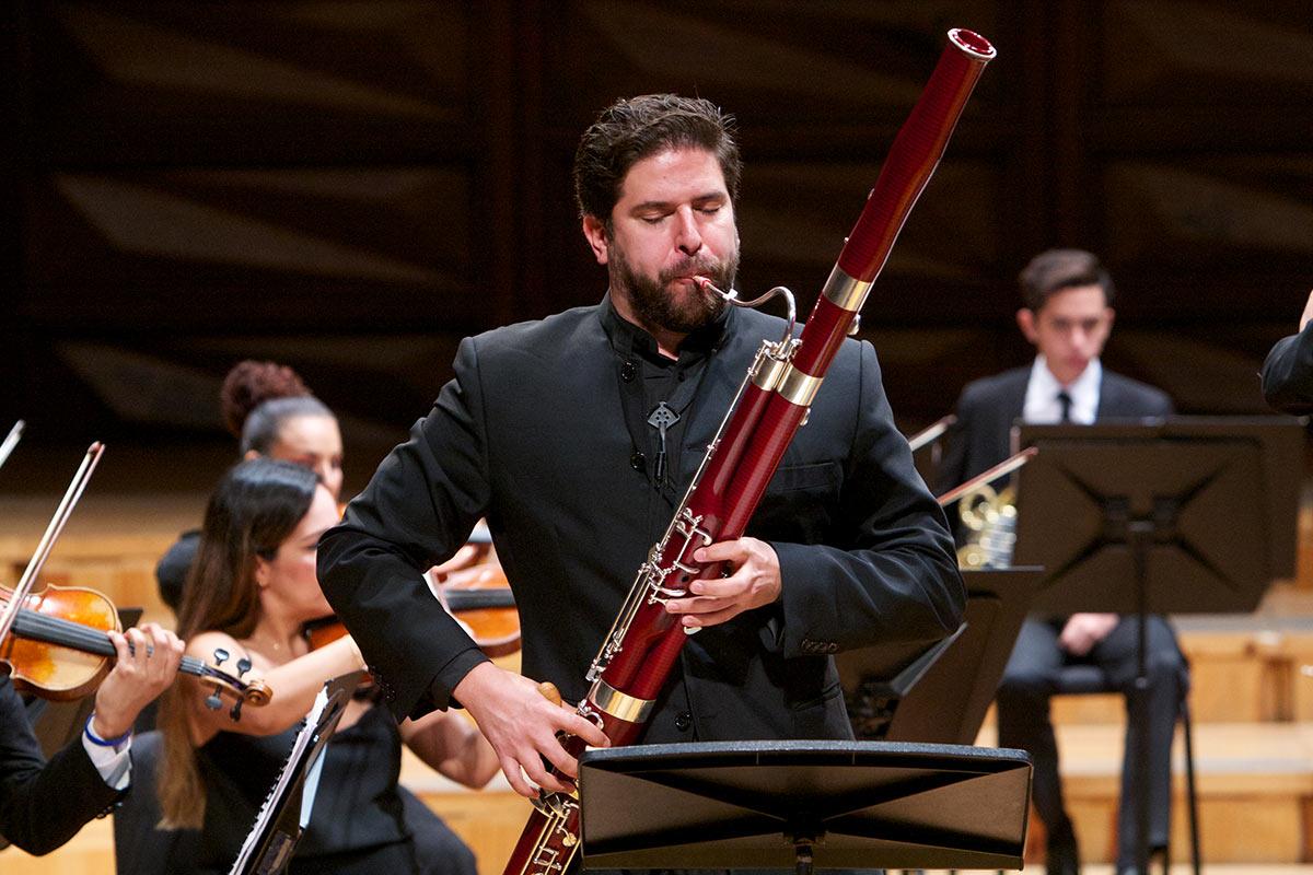 Hans Agreda Compartio Sus Conocimientos Con Fagotistas De El Sistema