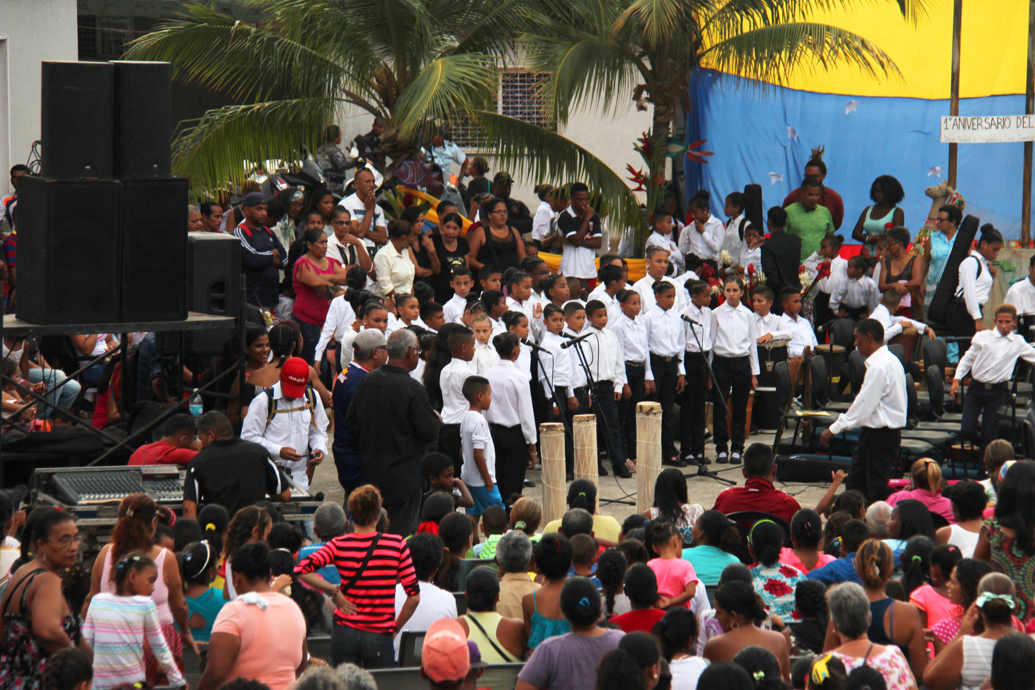 Un Festejo Que Dejó Ver El Apoyo Que Tiene La Música En El Pueblo De Choroní