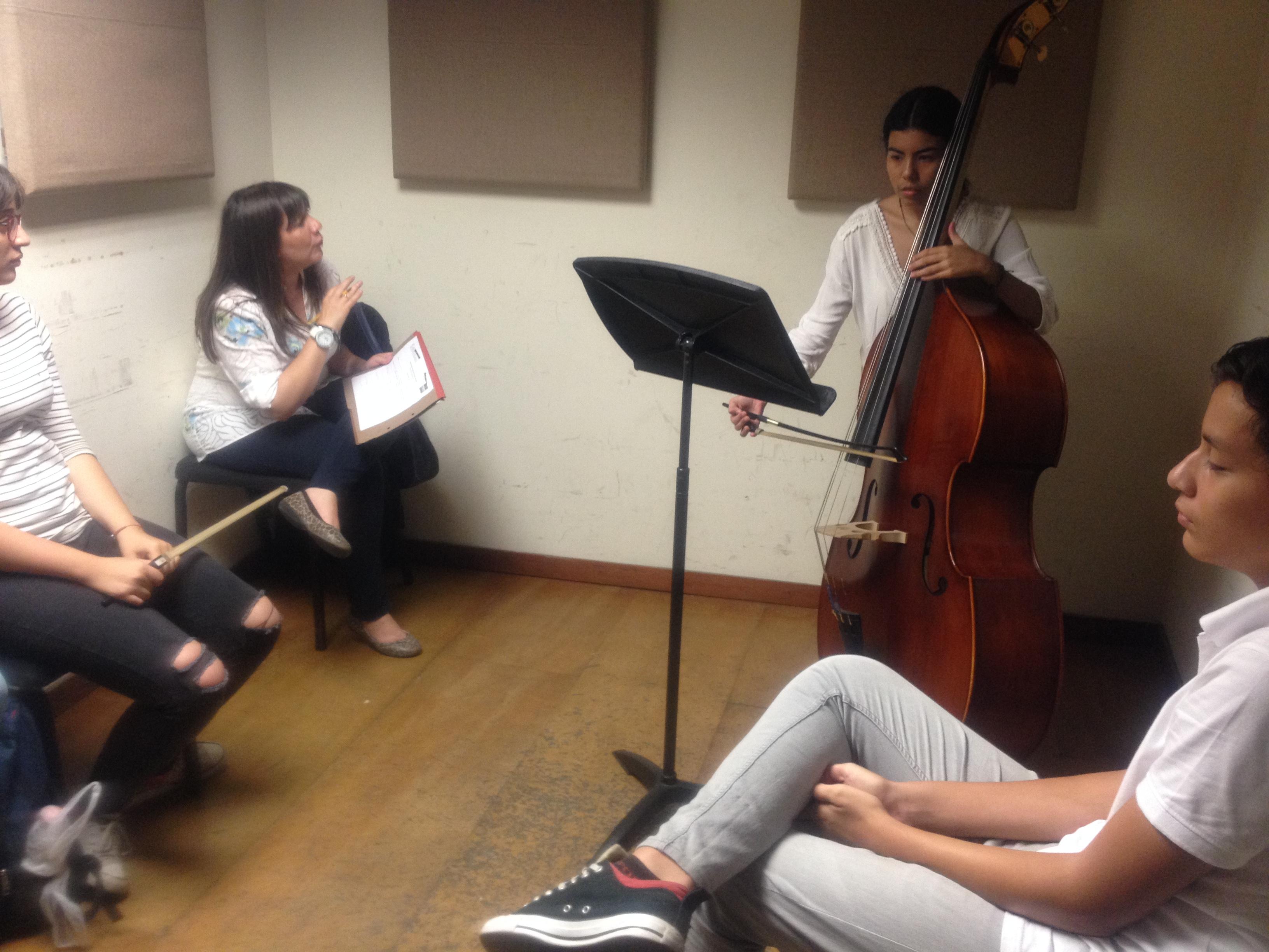 Programa De Iniciación Musical Retomó La Formación De Jóvenes Monitores Para La Enseñanza