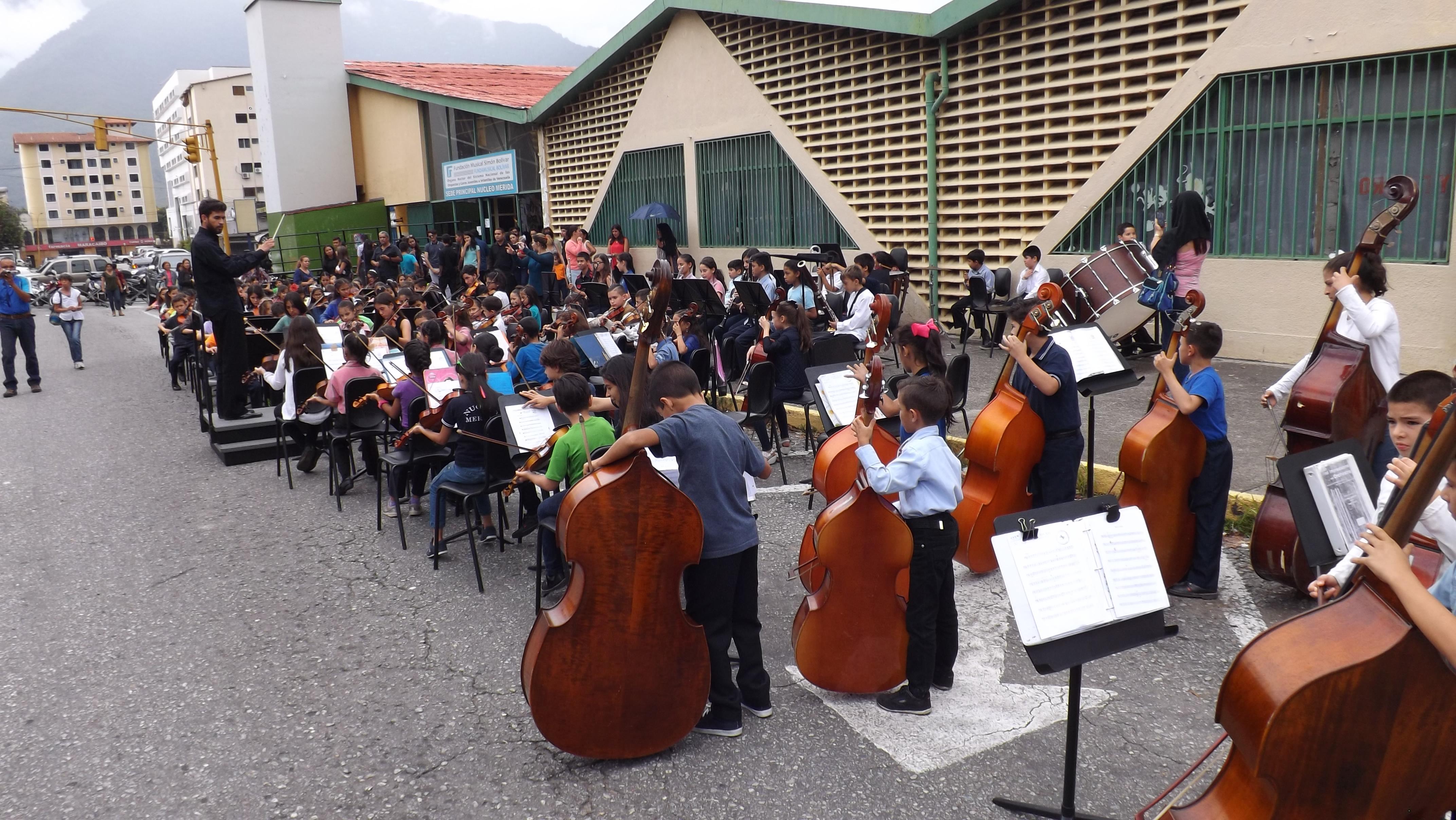 Cátedras Musicales De Mérida Brindaron Homenaje A El Sistema Por 41 Años De Trabajo En La Región