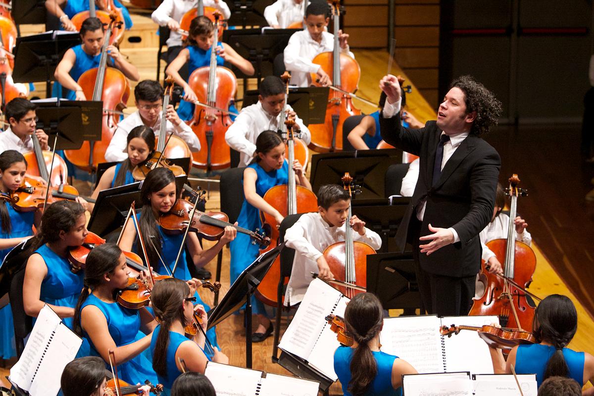 Sinfónica Nacional Infantil Bajo La Batuta De Gustavo Dudamel Llega A La Sala Virtual