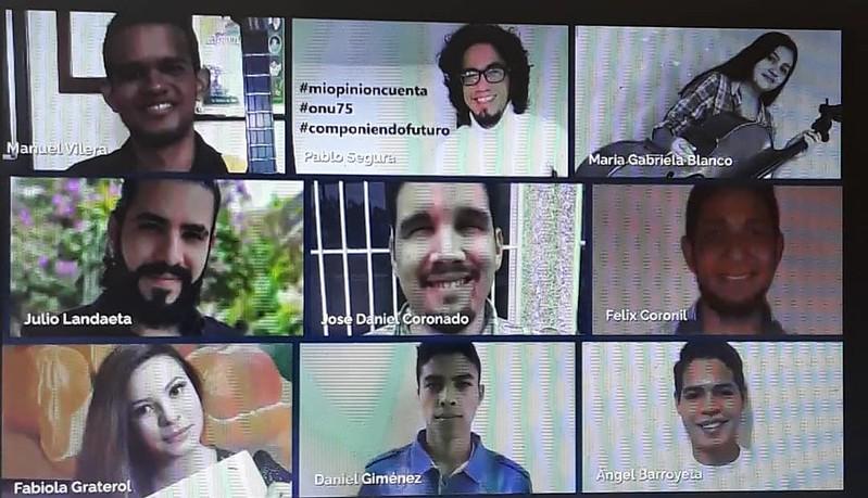 """Naciones Unidas Y El Sistema Premian A Jóvenes Compositores Ganadores De Concurso """"Componiendo Tu Futuro"""""""