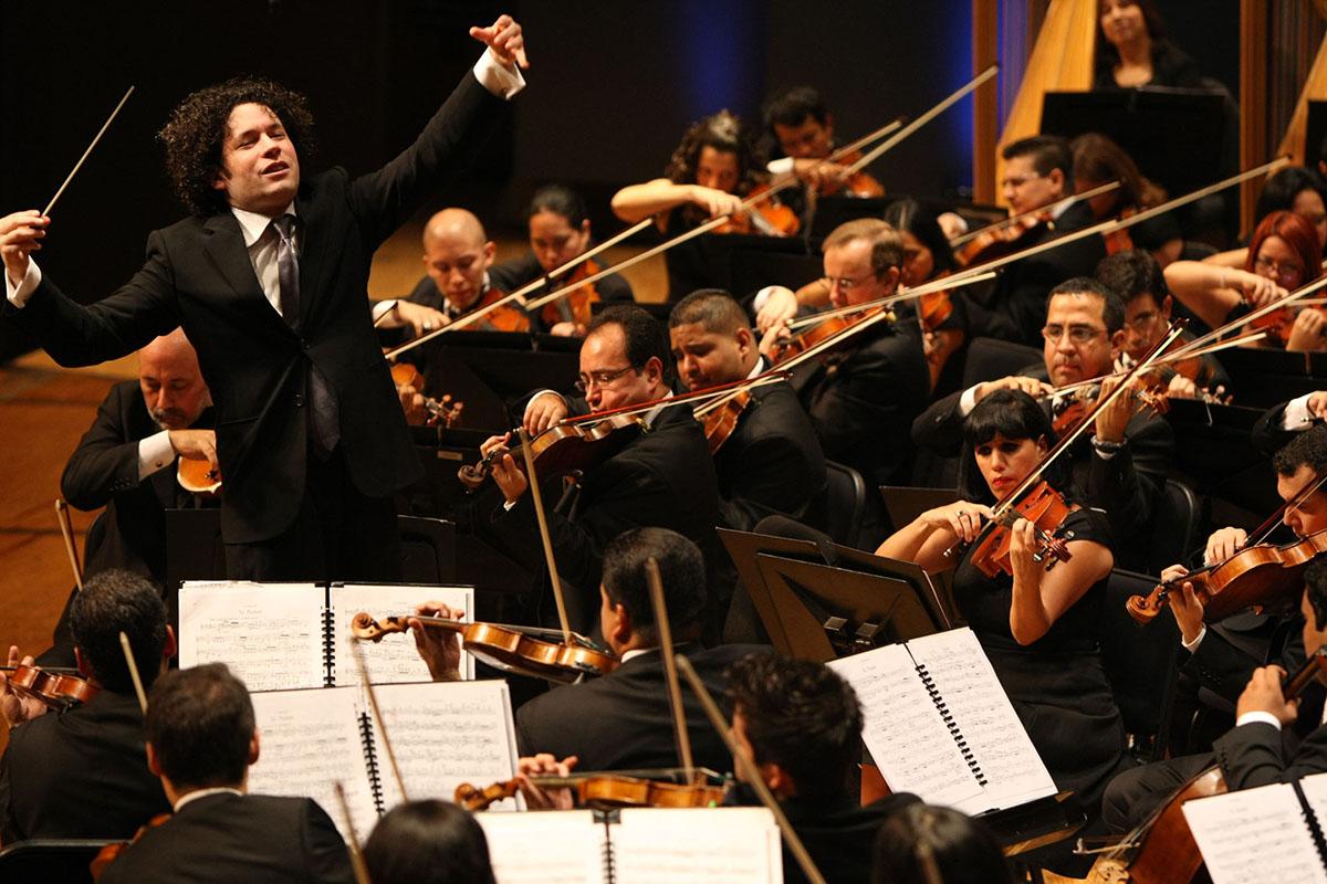 Gustavo Dudamel Y La Sinfónica Simón Bolívar En Gran Concierto Para La Sala Virtual