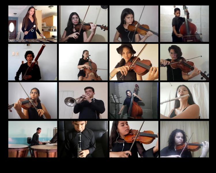 Orquesta Sinfónica Juvenil De Portuguesa Estrenó Con éxito Su Primer Concierto Virtual