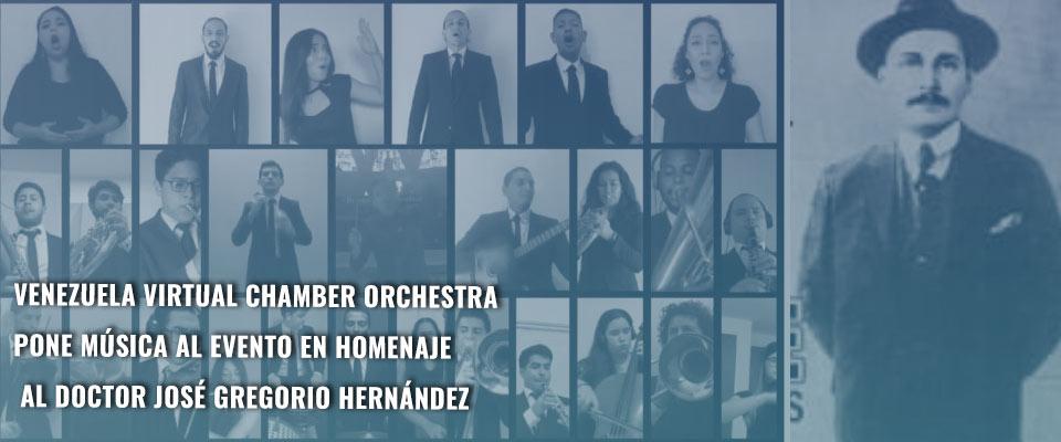 Venezuela Virtual Chamber Orchestra pone música al evento en homenaje al doctor José Gregorio Hernández