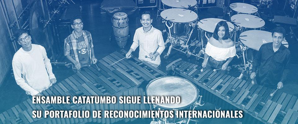 Ensamble Catatumbo sigue llenando su portafolio de reconocimientos internacionales