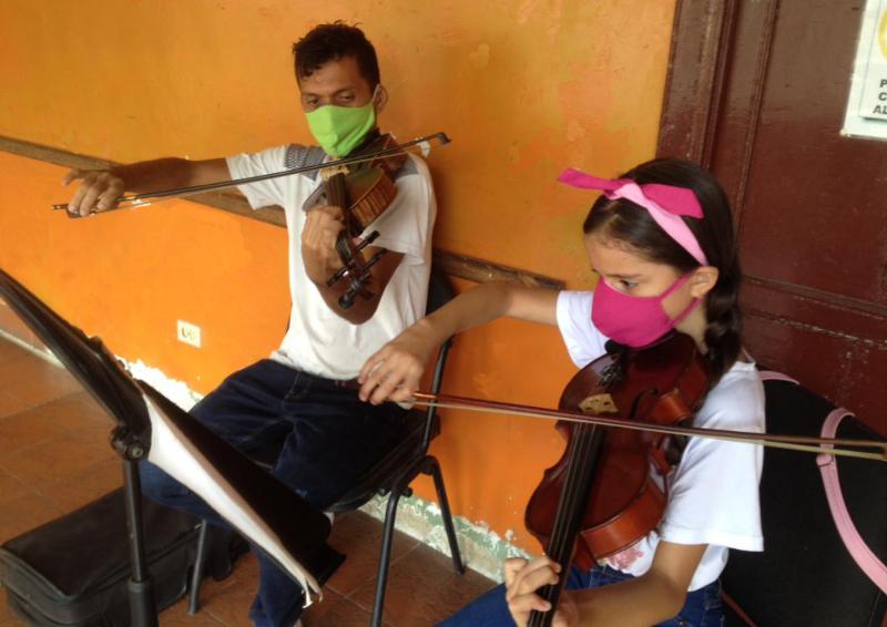 Los Docentes Mantienen Su Compromiso Formativo Y Musical De Niños Y Jóvenes