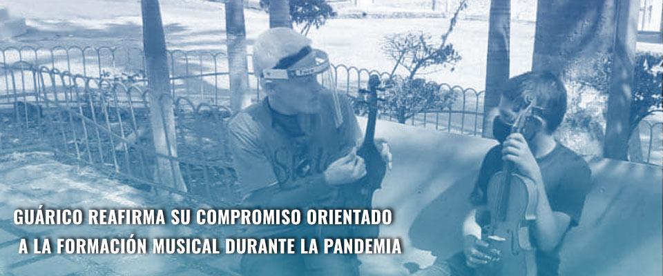 Guárico reafirma su compromiso orientado a la formación musical durante la pandemia
