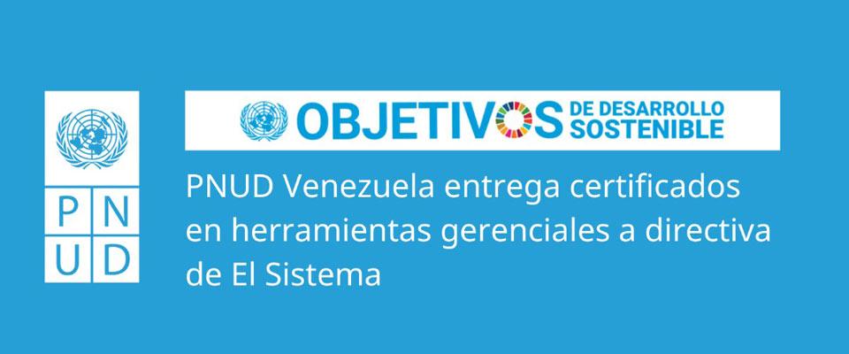 PNUD entregó certificados del taller Desafíos gerenciales en tiempos de crisis