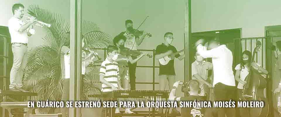 En Guárico se estrenó sede para la Orquesta Sinfónica Moisés Moleiro